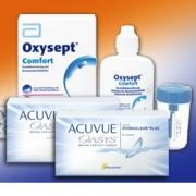 Acuvue Oasys 6er: 2 Boxen + Oxysept Comfort 60ml