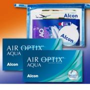 AirOptix Aqua 6er: 2 Boxen + AOSept Plus Flight Pack