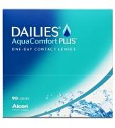 DAILIES AquaComfort Plus 90: 4 Boxen