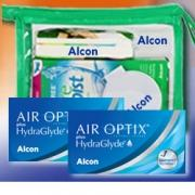AirOptix plus HydraGlyde 6er: 2 Boxen+OptiFree PureMoist Flight