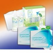 PureVision2 HD: 2 Boxen + Biotrue Flight Pack